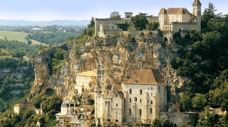 Rocamadour dans le département du lot en région occitanie