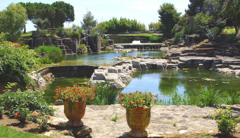 Les jardins de Saint Adrien à Servian