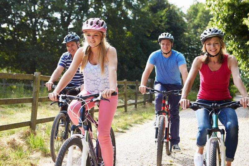 Faire du vélo dans le tarn-et-garonne sur la voie verte