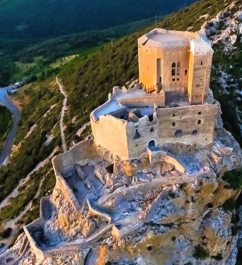 Château de Quéribus dans l'Aude