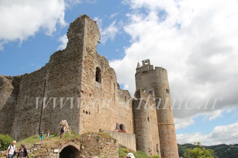 Forteresse de Najac gorges de l'Aveyron