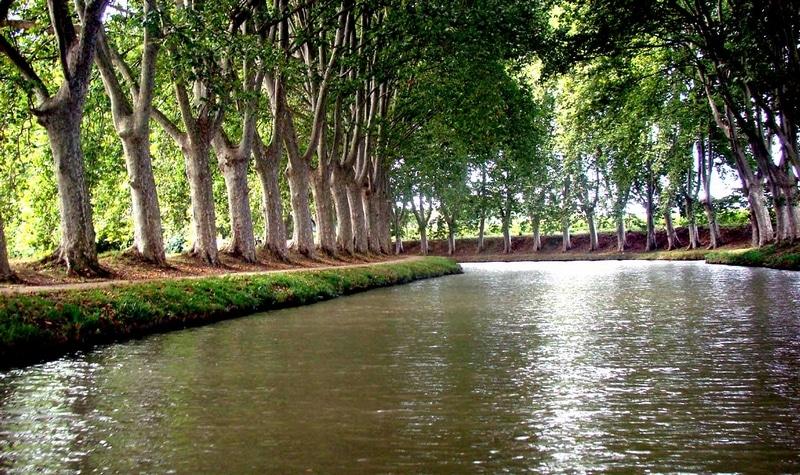 Le canal du midi de Pierre Paul Riquet