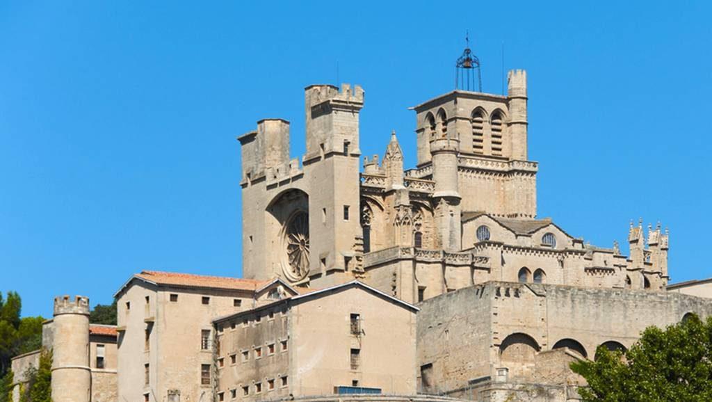 la cathédrale Saint-Nazaire de Béziers dans l'Hérault