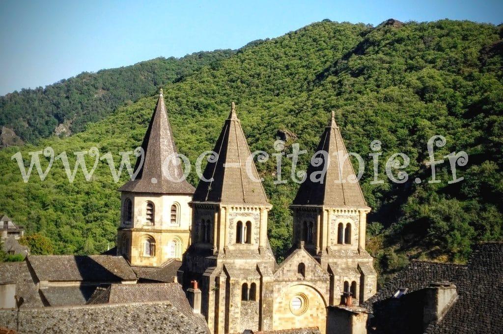 Conques dans l'Aveyron