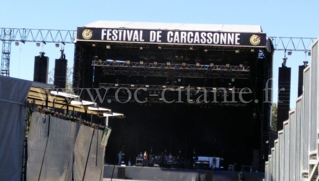 Scène de la Fageole à Carcassonne