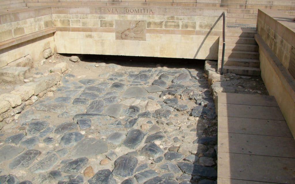voie domitienne à Narbonne