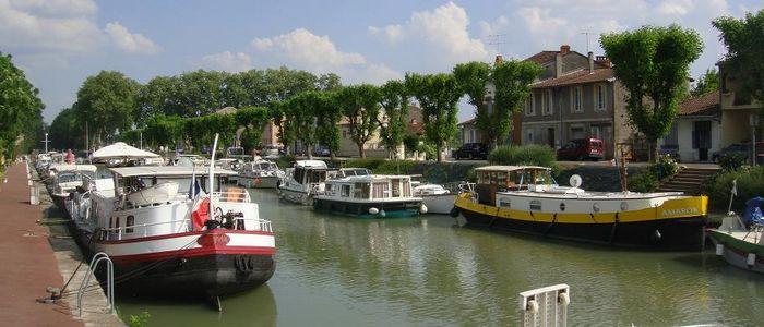 le port de Moissac