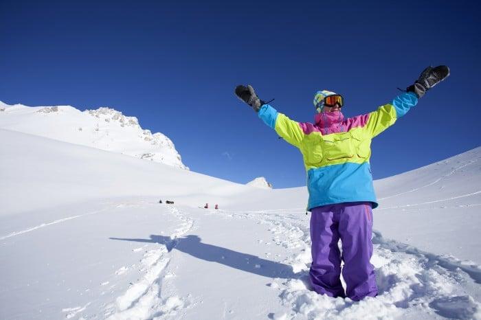 ski à Bonascre en Ariège