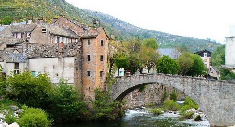 Florac : le pont de montvert