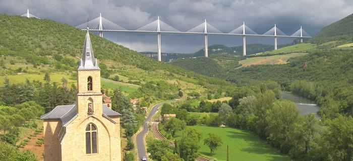 location vacances Aveyron proche du viaduc de Millau