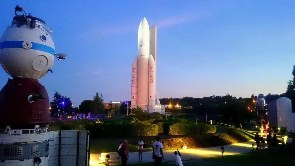 à Toulouse, la cité de l'espace