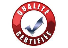 Qualité certifiée