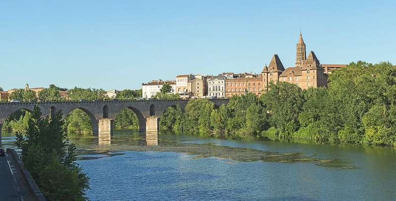 Le pont Vieux à Montauban