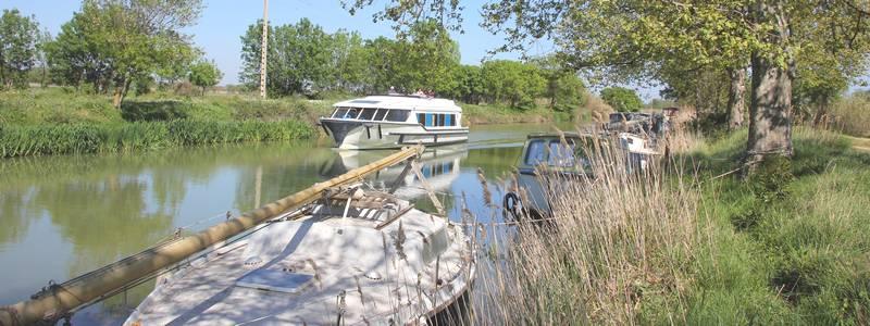 location de bateau sur le canal du midi