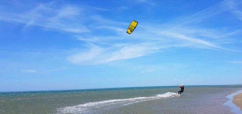 Kitesurf à Port la nouvelle