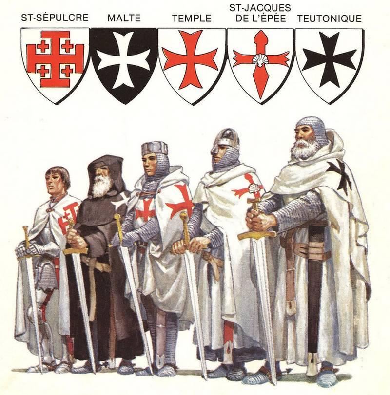 L'ordre des chevaliers du temple